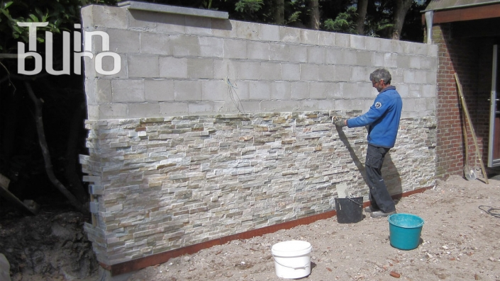 Stonepanel-Muurbekleding