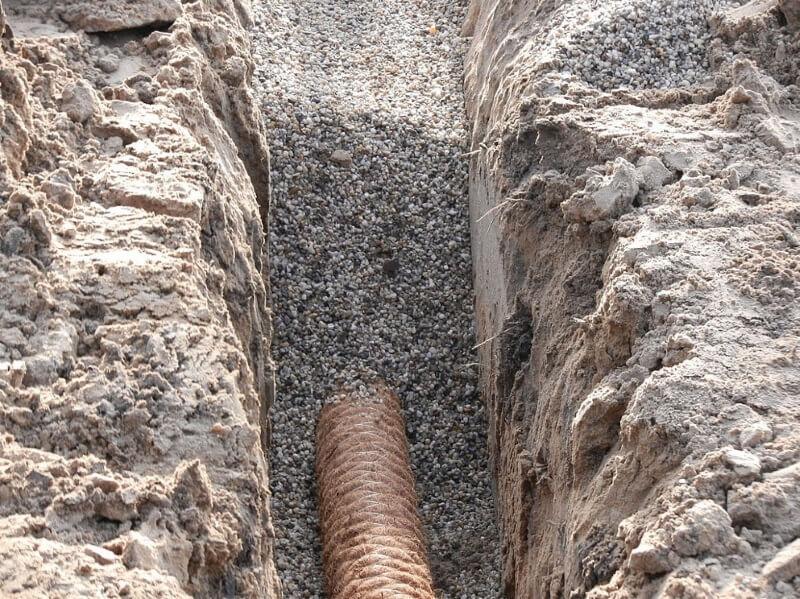 Drainage-met-grind